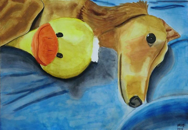 Duck and Dog - Bingcheng's Works