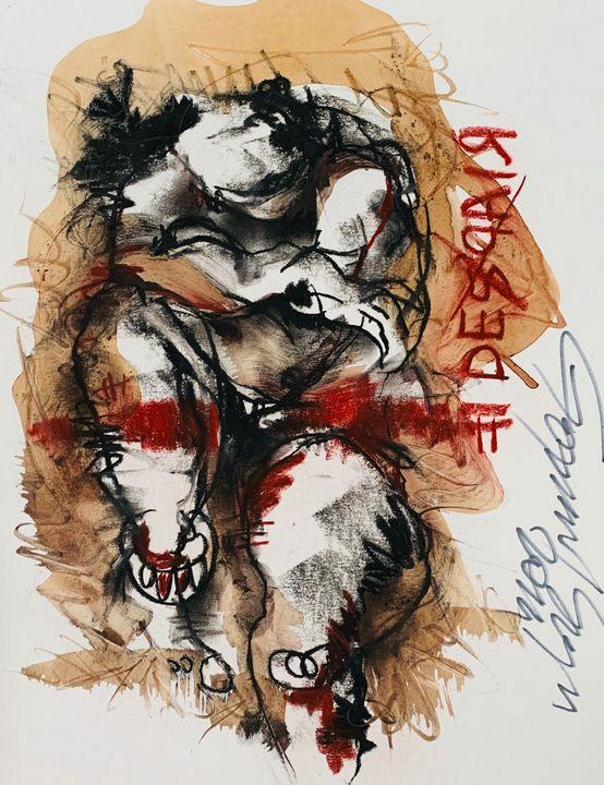 Despair - RedBlue Arts