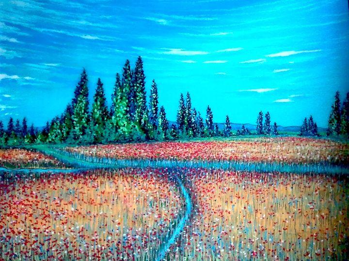 paysage - Corrand michel