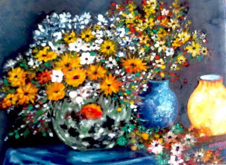bouquet champètre - Corrand michel