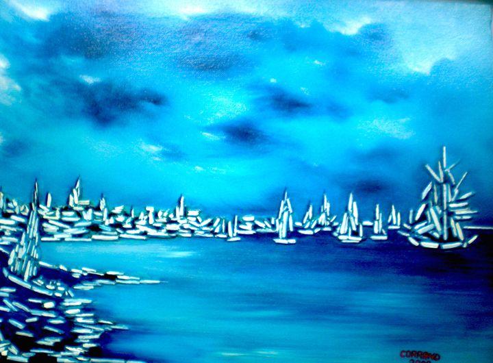 paysage marin - Corrand michel