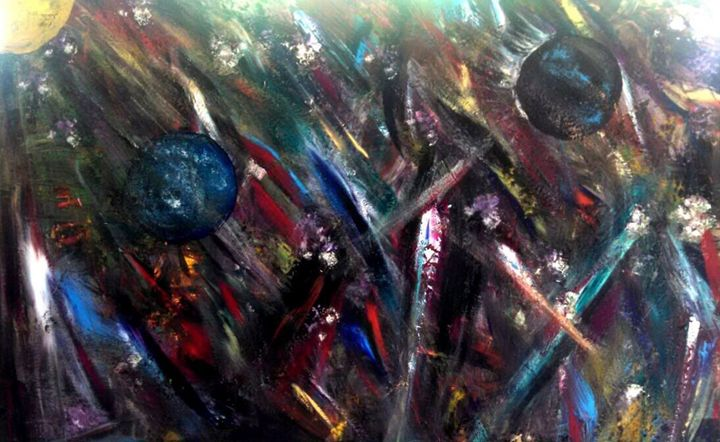 Striking Emotions - Emotional Abstracts by M. Lomeli