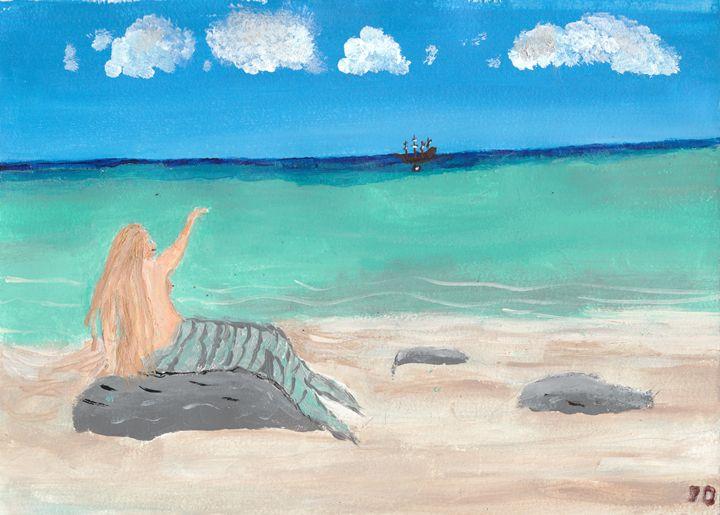 Mermaid - Drip Torch Studio