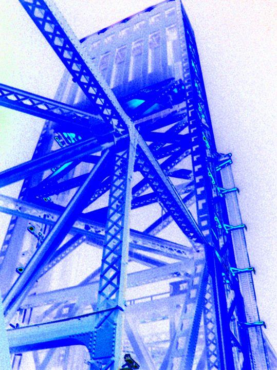 Blue Bridge - Drip Torch Studio