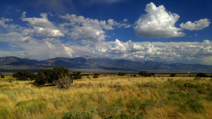 Nevada Clouds - Drip Torch Studio