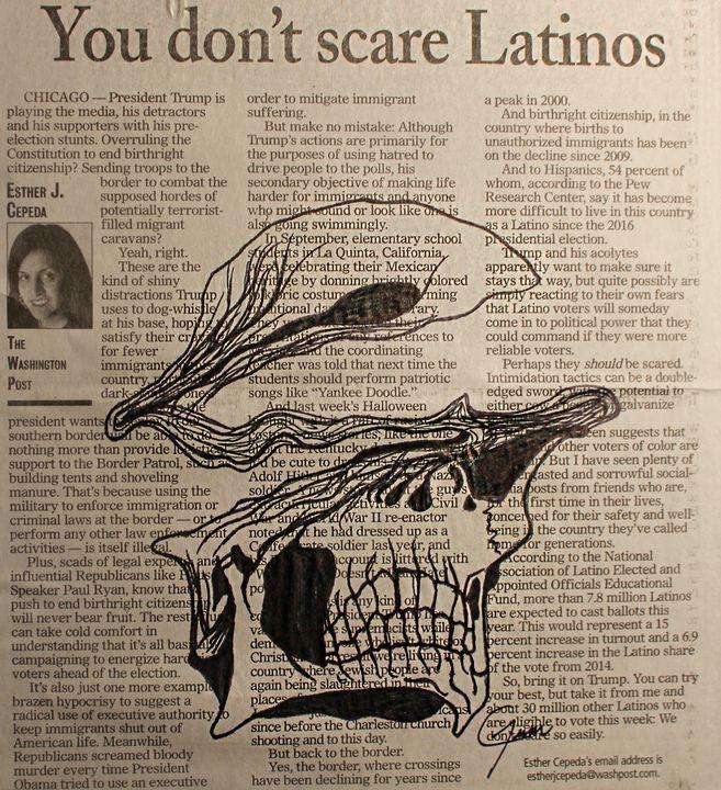 You don't scare Latinos - Gemma Cisneros