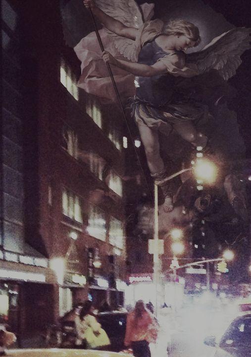 Arc Angel Michael At Union Square - Cusi