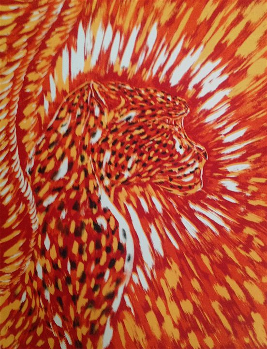 Cheetah Spirit - Claude Edwin Theriault