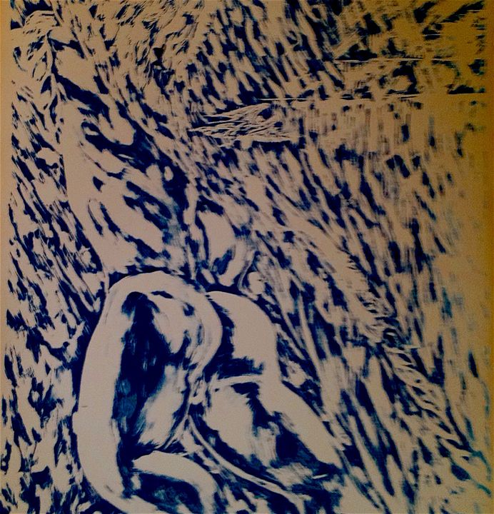 Ascension Blue version - Claude Edwin Theriault