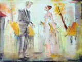 """Original Painting of """"Look"""""""
