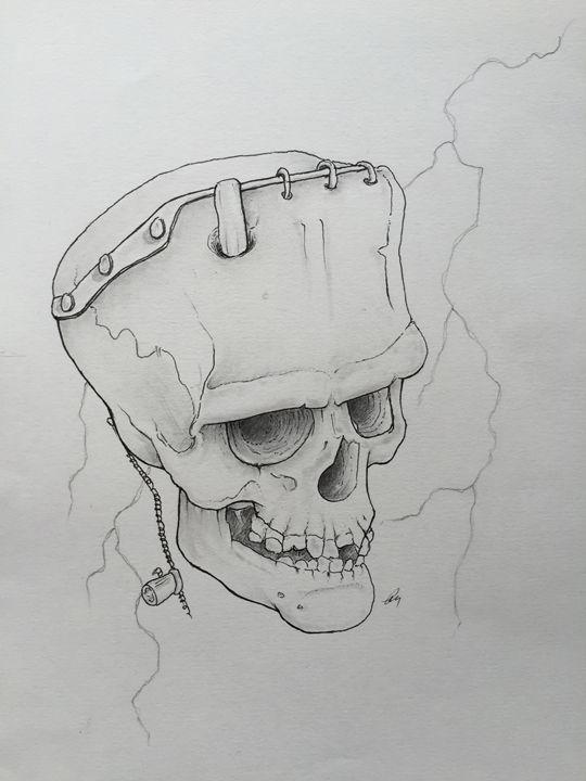 Skulls: Frankenstein - Jay Gynane