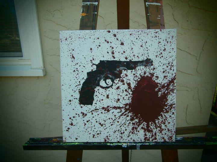 Clue Exhibit: Gun - Paul Sanders
