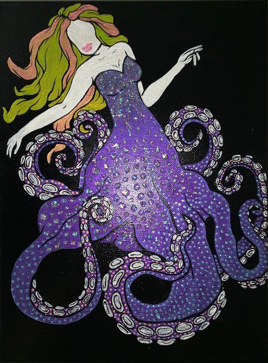 Madame Octopus - Bonn's Paint Love