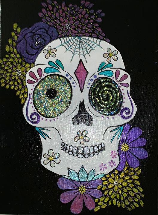 Sugar Skull 1 - Bonn's Paint Love