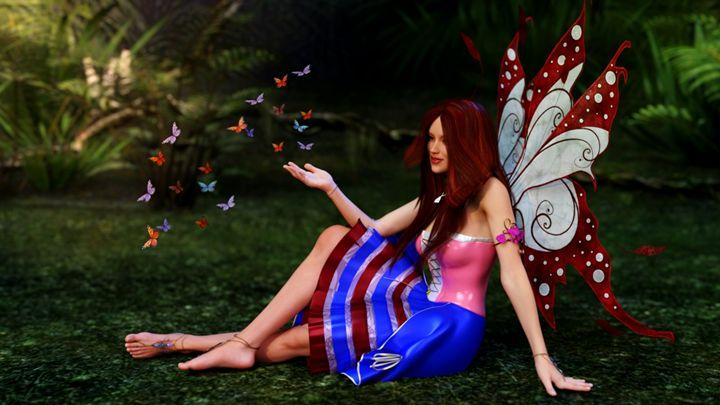 Angel of Love - Sumit3D
