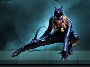 The Cat Woman Unbound - DunJon Fantasy Art