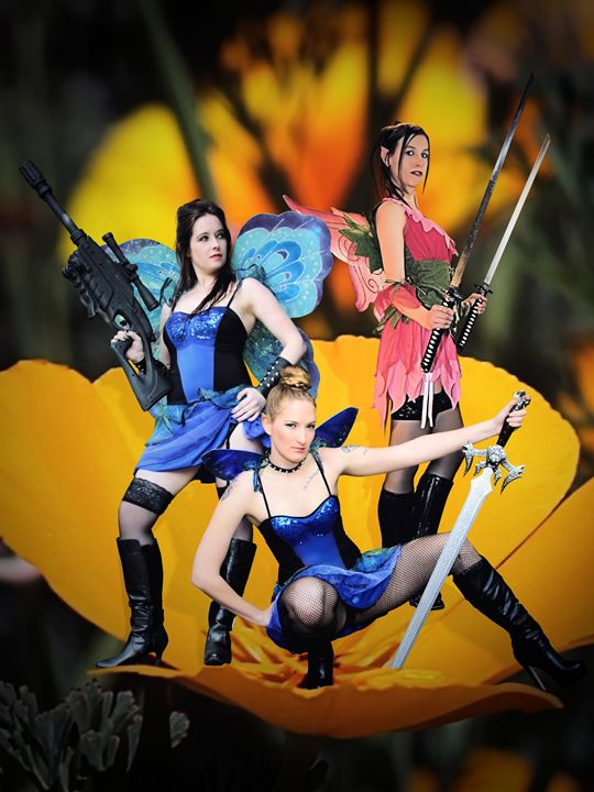 Fairy Force! - DunJon Fantasy Art
