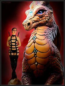 The Rebel And The Dragon - DunJon Fantasy Art