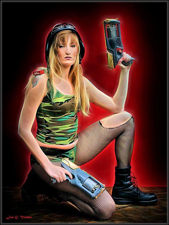 Tank Girl Locked And Loaded - DunJon Fantasy Art