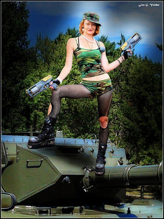 Missile Pistols and Tank Turret - DunJon Fantasy Art