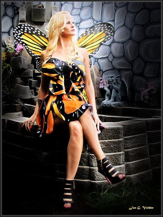 The Monarch Fairy - DunJon Fantasy Art