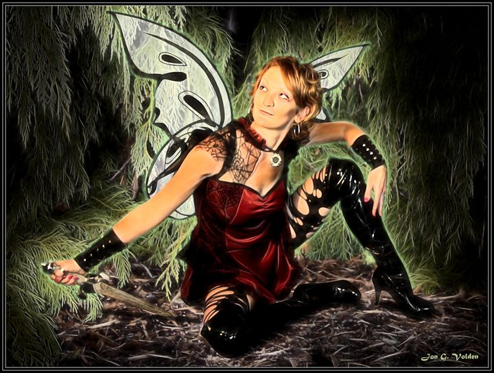 Pixie - DunJon Fantasy Art