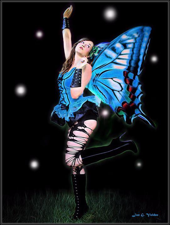Rise Of The Blue Fairy - DunJon Fantasy Art