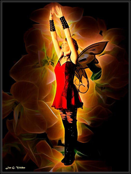 Rise Of The Red Fairy - DunJon Fantasy Art