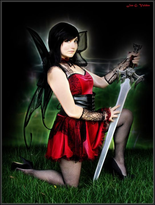 The Blade Of A Fairy - DunJon Fantasy Art