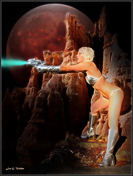 Galaxzina And The Planet Of Doom - DunJon Fantasy Art