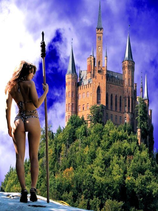 Rebel Castle - DunJon Fantasy Art