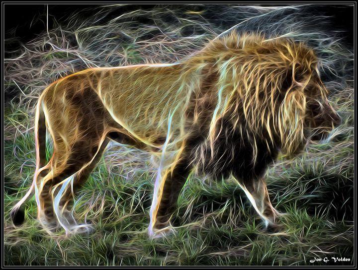 Lion Spirit - DunJon Fantasy Art