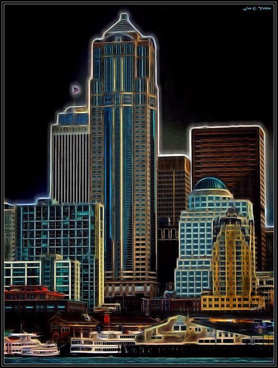 Seattle Rising - DunJon Fantasy Art