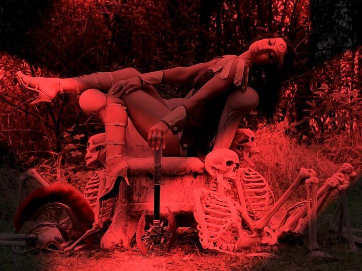 Hel (Goddess of Death) - DunJon Fantasy Art