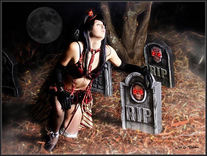 Whistling In A Graveyard - DunJon Fantasy Art