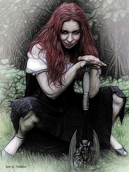 Lizzy Bordern - DunJon Fantasy Art