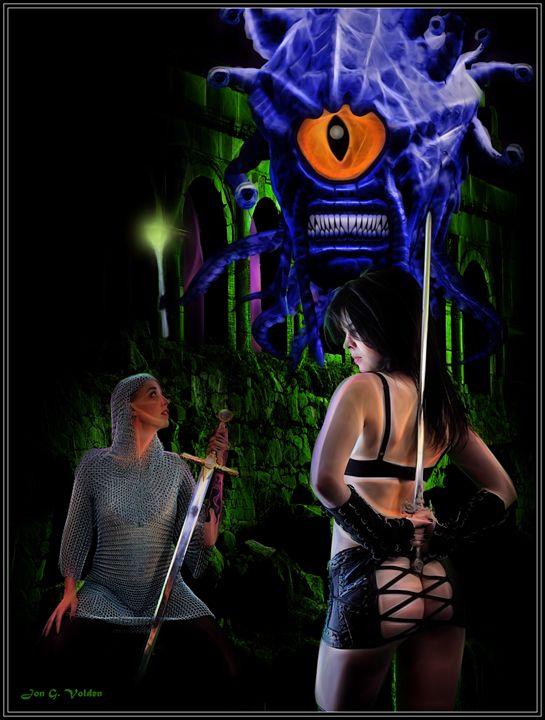 The Eye Of The Beholder - DunJon Fantasy Art