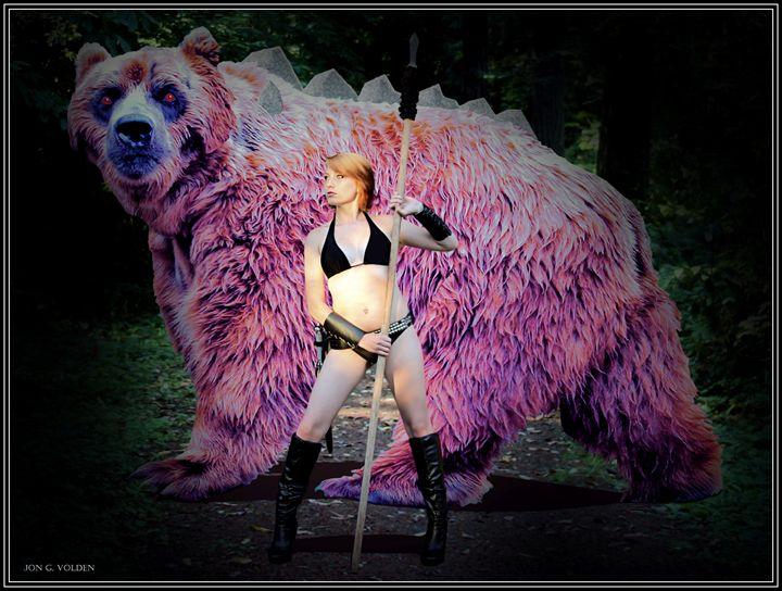 Dire Bear - DunJon Fantasy Art