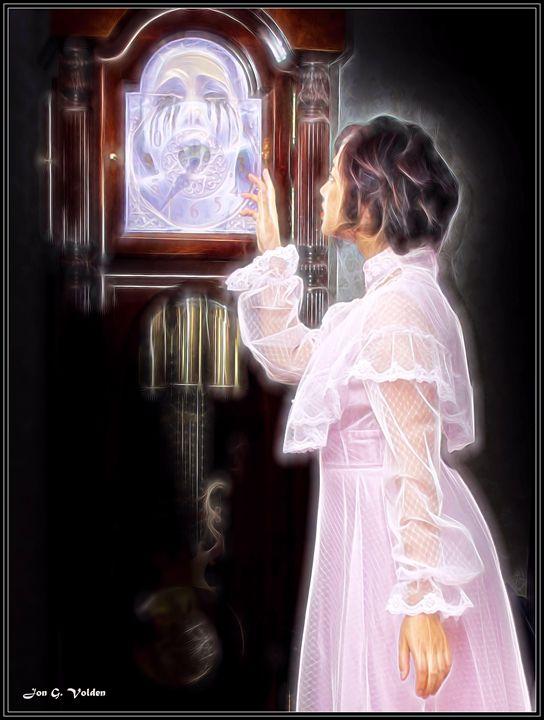 The Ghost In The Clock - DunJon Fantasy Art