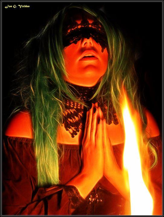 Blind Prayer - DunJon Fantasy Art