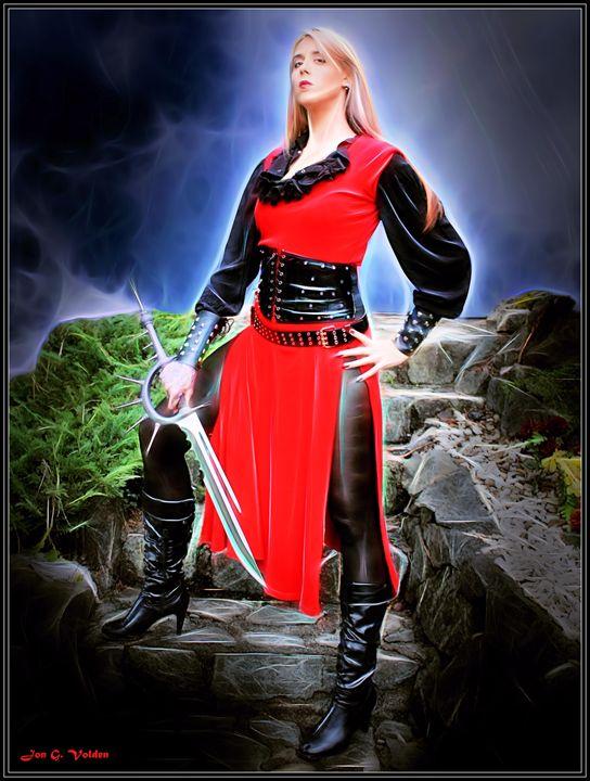 The Red Swashbuckler - DunJon Fantasy Art