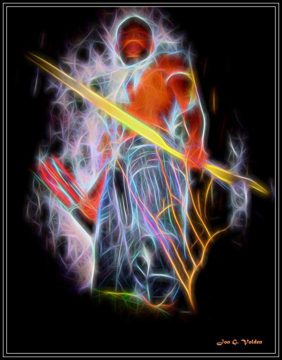 Abstract Of Dark Ranger - DunJon Fantasy Art