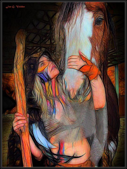 Heroic Druid - DunJon Fantasy Art