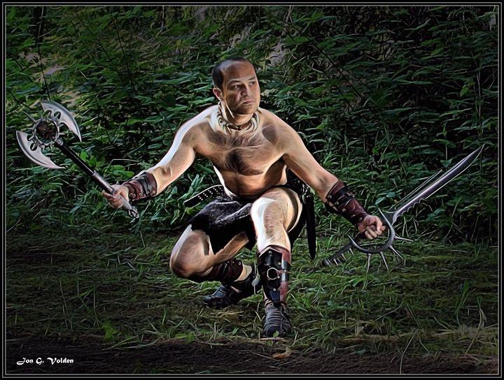 Barbarbaric - DunJon Fantasy Art
