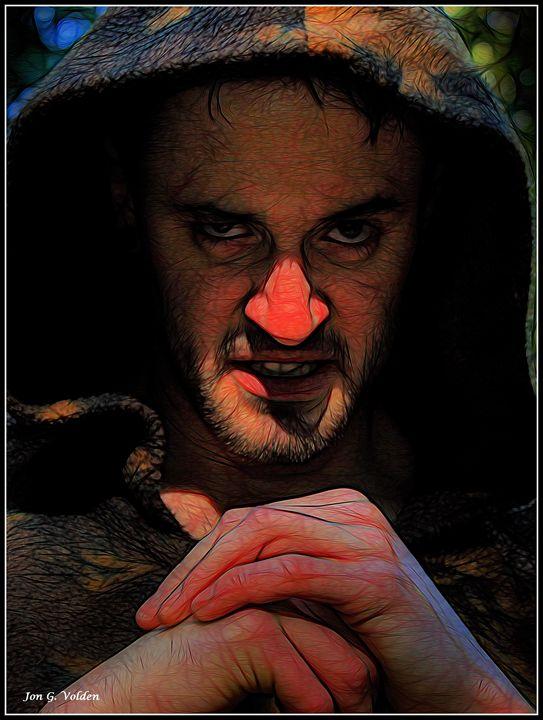 Impression Of An Evil Wizard - DunJon Fantasy Art