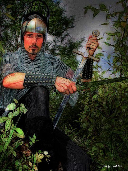 Impression Of A Knight - DunJon Fantasy Art