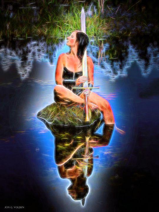 The Lady Of The Lake - DunJon Fantasy Art
