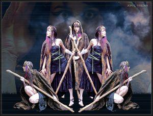 Mirror Image - DunJon Fantasy Art