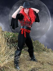 Imp Under The Moon - DunJon Fantasy Art