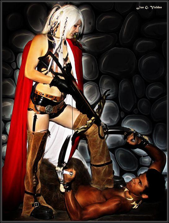 Revenge Of Red Riding Hood - DunJon Fantasy Art